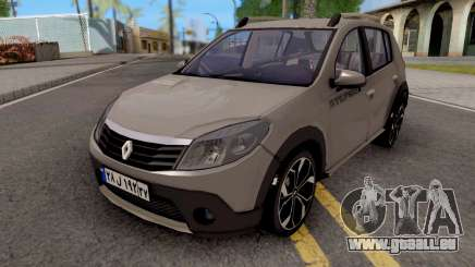 Renault Sandero StepWay v2 pour GTA San Andreas