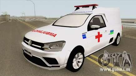Volkswagen Saveiro G7 Robust RESGATE MG für GTA San Andreas