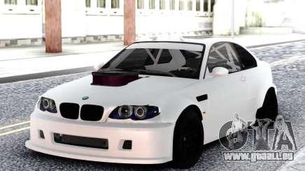 BMW M3 E92 DRIFT White pour GTA San Andreas