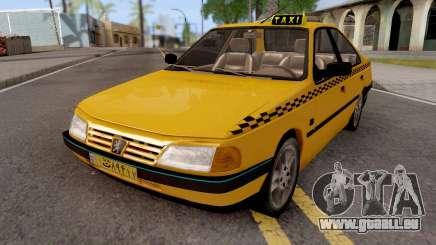 Peugeot 405 GLX Taxi v2 pour GTA San Andreas