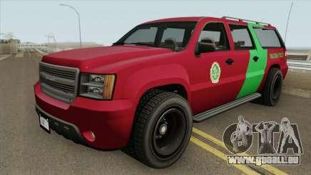 Declasse Granger 3500LX GTA V (Area 69 Brigade) pour GTA San Andreas