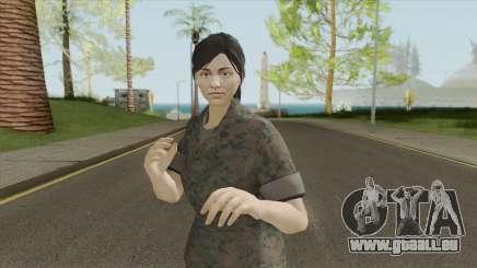 GTA Online Random Skin 29 (Female U.S. Miltary) pour GTA San Andreas