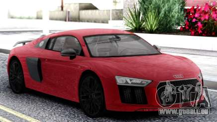 Audi R8 Red pour GTA San Andreas