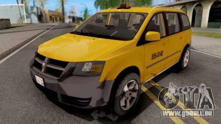 Dodge Grand Caravan Taxi pour GTA San Andreas