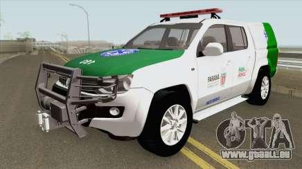 Volkswagen Amarok TDI (SIATE MEDICO) pour GTA San Andreas