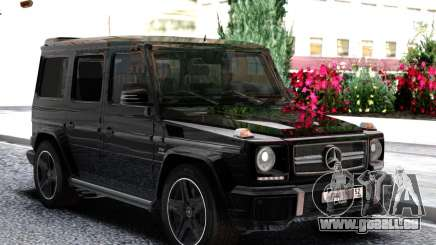 Mercedes-Benz Gelandewagen2 pour GTA San Andreas