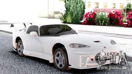 Dodge Viper GTS White pour GTA San Andreas