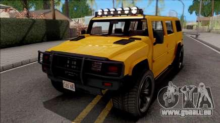 GTA V Mammoth Patriot v2 für GTA San Andreas