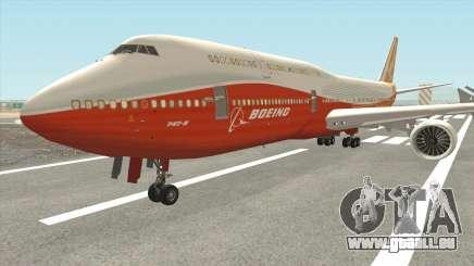 Boeing 747-8i (Boeing House Sunrise) für GTA San Andreas