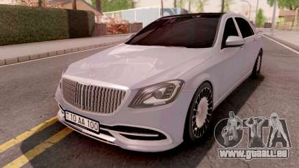 Mercedes-Maybach S-Class W222 für GTA San Andreas
