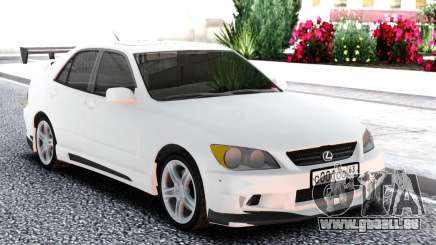 Lexus IS300 White Sedan pour GTA San Andreas
