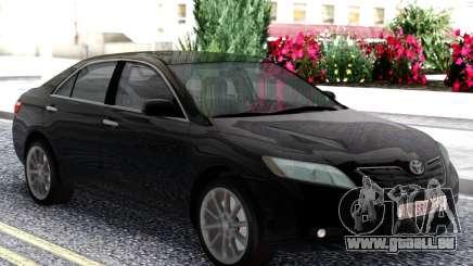 Toyota Camry XV40 2007 Black pour GTA San Andreas
