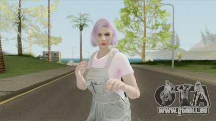 GTA Online Random Skin 28 (Aesthetic Girl) pour GTA San Andreas
