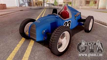 Audi Type C Blue pour GTA San Andreas