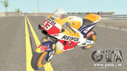 Honda RC213V 2019 Marc Marquez pour GTA San Andreas