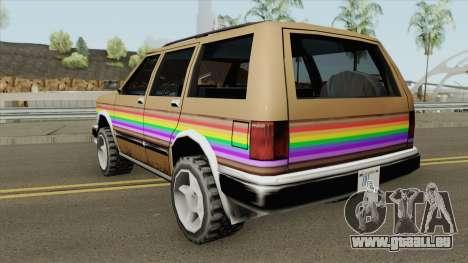 Landstalker Rainbow pour GTA San Andreas