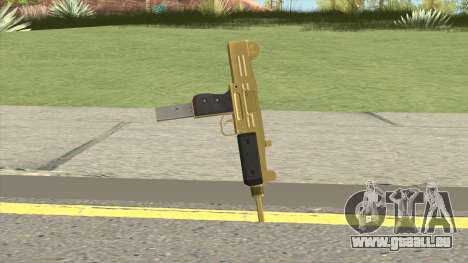 Gold Uzi GTA IV EFLC pour GTA San Andreas