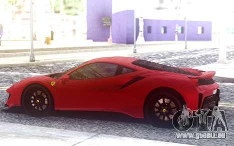 Ferrari 488 Pista 2020 pour GTA San Andreas