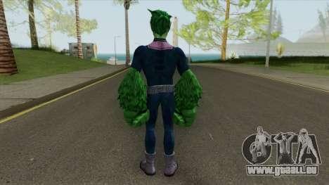 Beast Boy Changeling V3 pour GTA San Andreas
