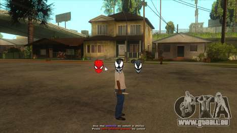 Spider Man Mod pour GTA San Andreas