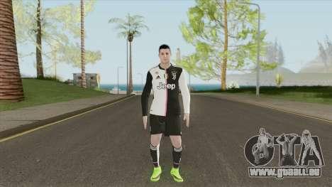 Cristiano Ronaldo (Juventus 2019-20 Home Kit) pour GTA San Andreas