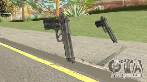 Beretta 92 Pistol für GTA San Andreas
