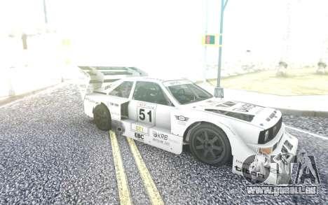 KRB Audi S1 Silhouette für GTA San Andreas