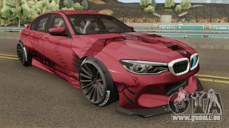 BMW M5 F90 Ghost Kit 2018 pour GTA San Andreas