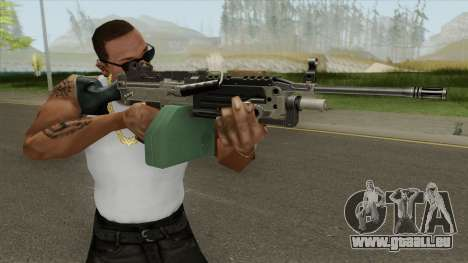 Advanced MG (M249) GTA IV EFLC pour GTA San Andreas