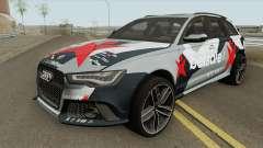 Audi RS 6 Avant 2015 pour GTA San Andreas
