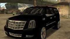 Cadillac Escalade ESV Black pour GTA San Andreas