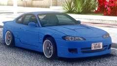 Nissan Silvia S15 Original Blue für GTA San Andreas