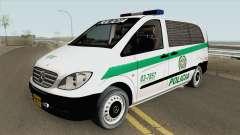 Mercedes-Benz Vito (Patrullas Colombianas) pour GTA San Andreas