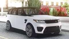 Range Rover SVR White pour GTA San Andreas