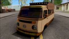 Volkswagen Kombi Classic Retro v2 pour GTA San Andreas