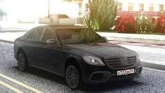 Mercedes-Benz S63 AMG W222 Black pour GTA San Andreas