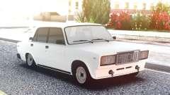 VAZ 2107 Weiß Low für GTA San Andreas