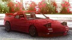 Mazda Savanna RX-7 FC3S Red für GTA San Andreas