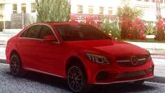 Mercedes-Benz C300 2019 Red pour GTA San Andreas