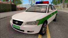 Hyundai Sonata 2009 Police