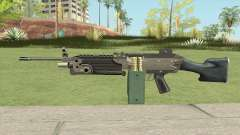 Advanced MG (M249) GTA IV EFLC pour GTA San Andreas