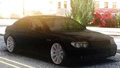 BMW 750i Black für GTA San Andreas