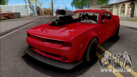 GTA V Bravado Gauntlet Hellfire Custom pour GTA San Andreas