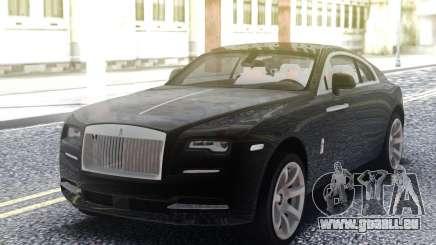 Rolls-Royce Wraith Black pour GTA San Andreas