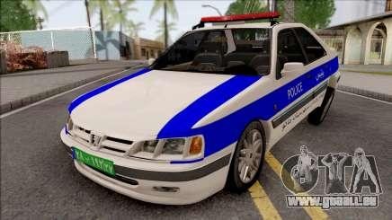 Peugeot Pars ELX Police pour GTA San Andreas