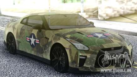 Nissan GT-R 35 Quick Warrior für GTA San Andreas