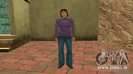 Vera Voronina pour GTA San Andreas