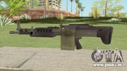 Battlefield 4 M60 pour GTA San Andreas