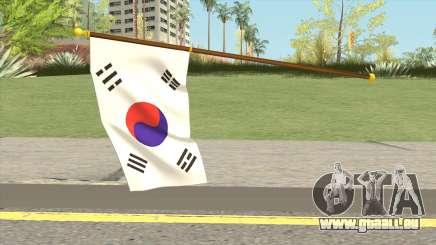 South Korea Flag pour GTA San Andreas