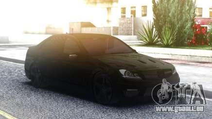 Mercedes-Benz C63 AMG AllBlack für GTA San Andreas